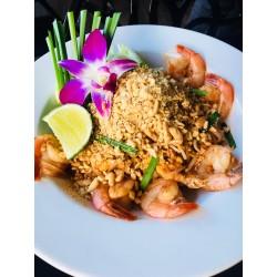 PAD - THAI nouilles de riz aux crevettes