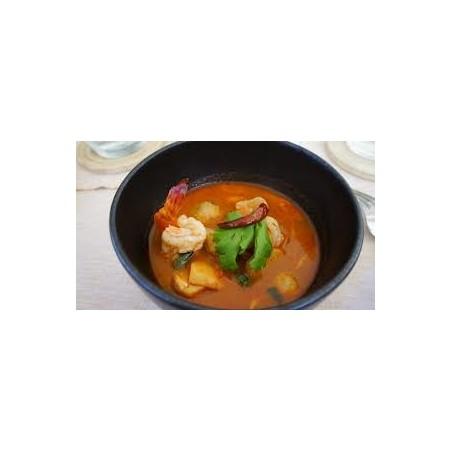 Soupe de crevettes (Tom yam kung)
