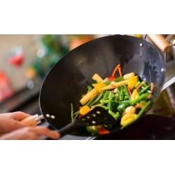 Légumes sautés au wok - Riz...