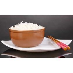 Portion de riz parfumé