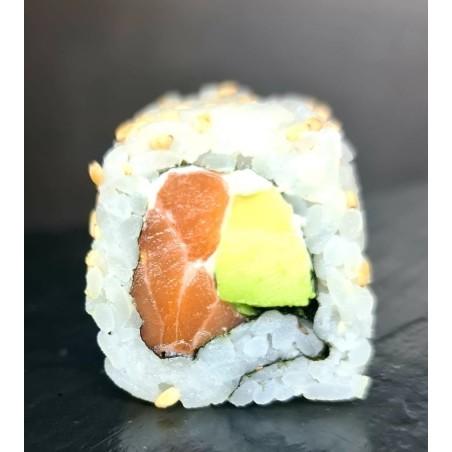 California saumon,avocat, , cheese 6p
