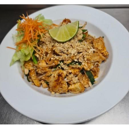 PAD - THAI nouilles de riz au poulet